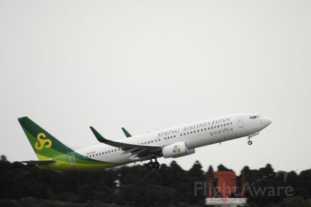 Boeing 737-800 (JA03GR) - Departure at Narita Intl Airport on 2016/10/13