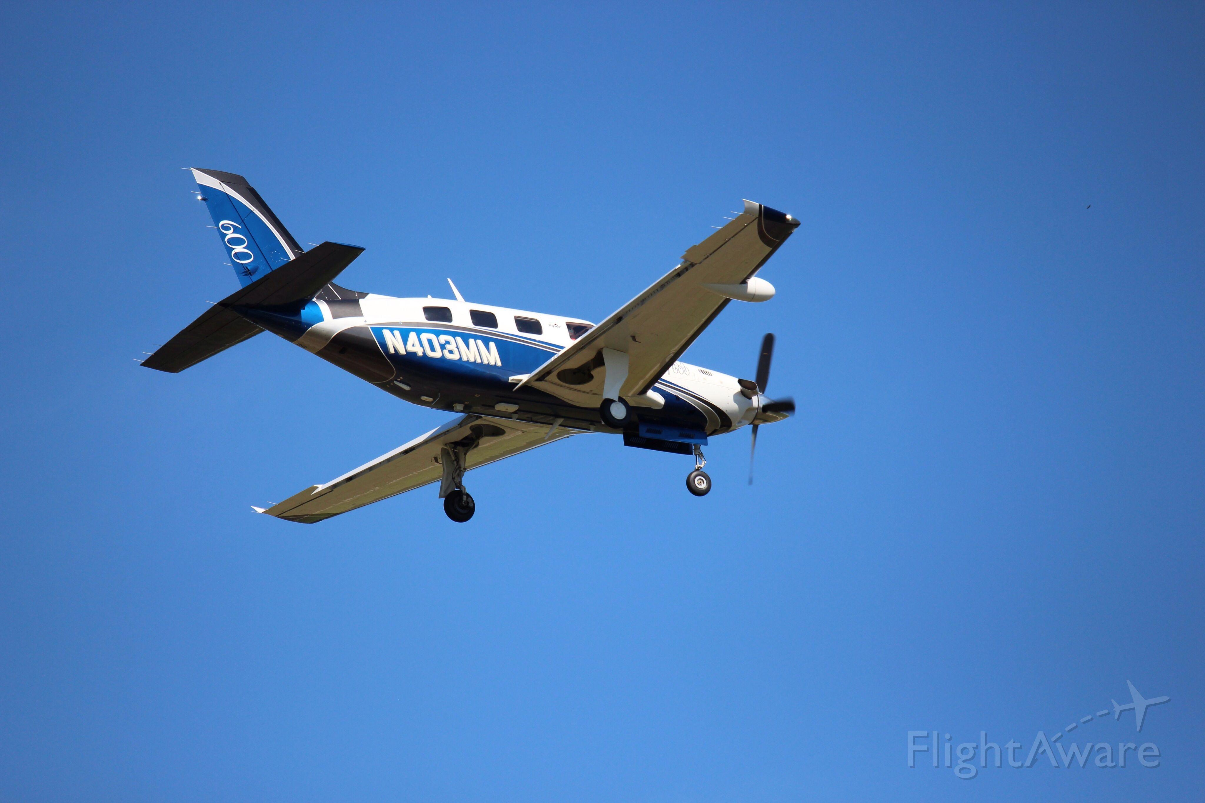 Piper Malibu Mirage (N403MM)