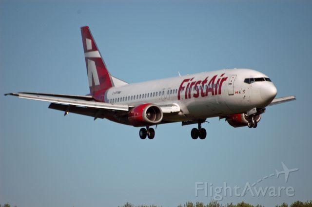 BOEING 737-400 (C-FFNM) - Boeing 737-436 (28538). Flight FAB6191 inbound from Nashville on Jun 2, 2019