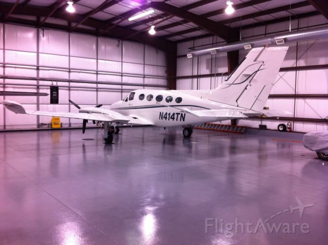 Cessna Chancellor (N414TN) - Parked