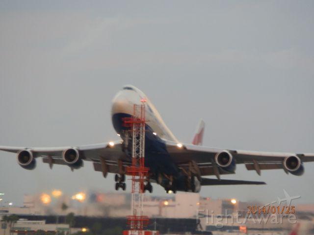 Boeing 747-400 (G-BYGF) - Raising the bar!