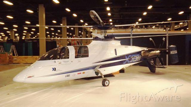 N525SA — - Sikorsky X2