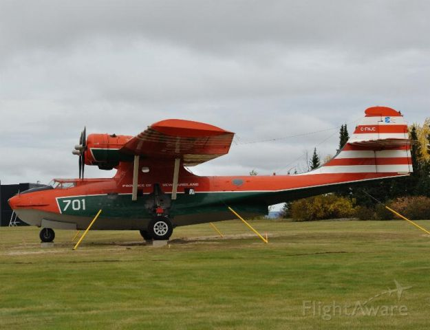Canadair CL-415 SuperScooper (C-FNJC) - PBY 5A consolidated.