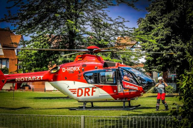 Eurocopter EC-635 (D-HDRX) - EC-H135 rescue helicopter (DRF)