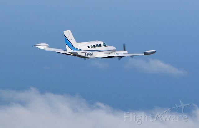 Cessna 402 (N660W) - Photo by George Riethof http://www.overnantucket.com