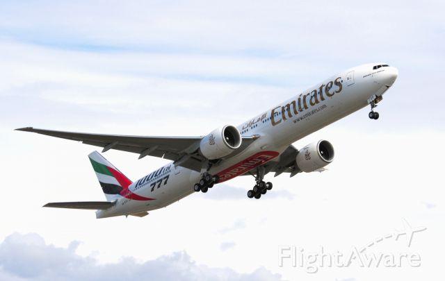 A6-EGO — - Emirates Boeing 1000th 777