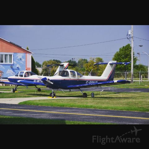 """Piper Tomahawk (C-GRKQ) - The """"Windsor Flying Clubs"""" Piper Tomahawks."""