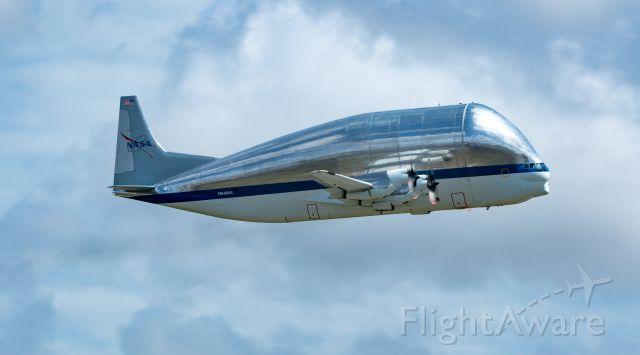N941NA — - B377SGT N941NA takes to the sky at EFD on 3/12/2021