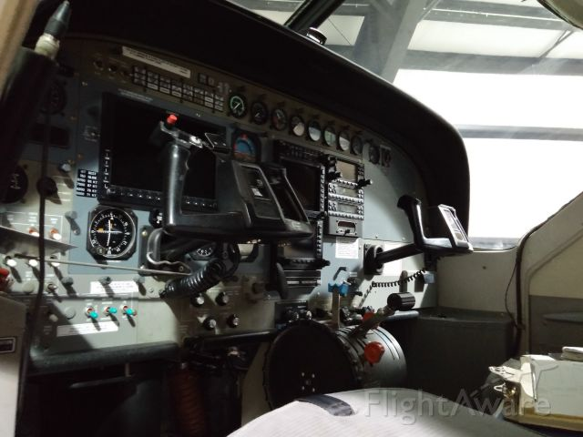 Cessna Caravan — - Cockpit of Iron Air C208 (I didn