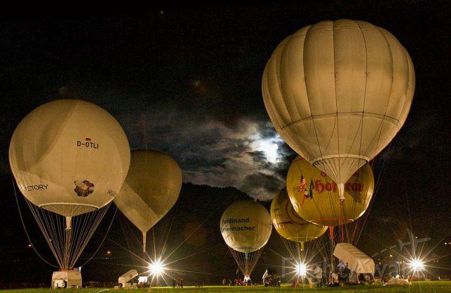 Unknown/Generic Balloon — - Gordon Bennett Balloon race Almost time to go