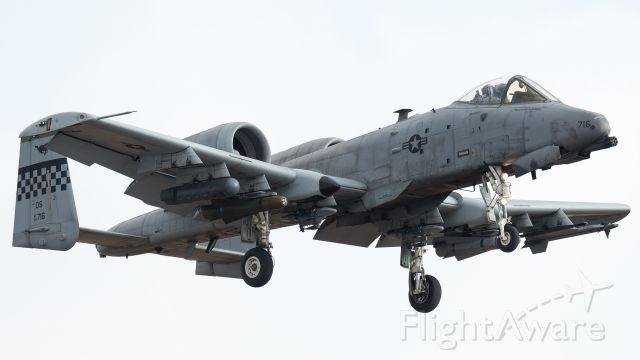 Fairchild-Republic Thunderbolt 2 (78-0716) - 2016/2/9