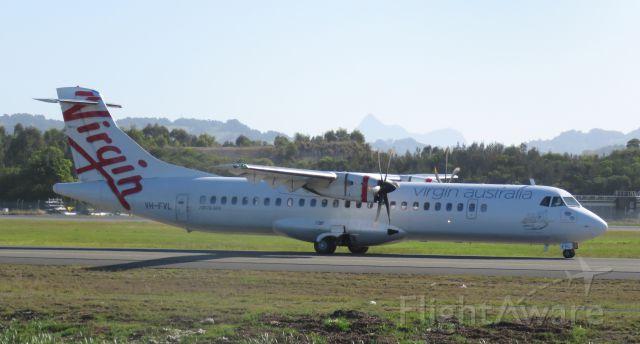 ATR ATR-72 (VH-FVL)