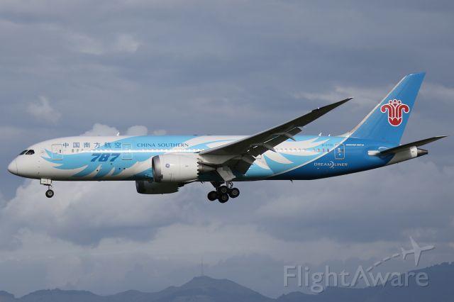 Boeing 787-8 (B-2725) - 18 SEP 2016