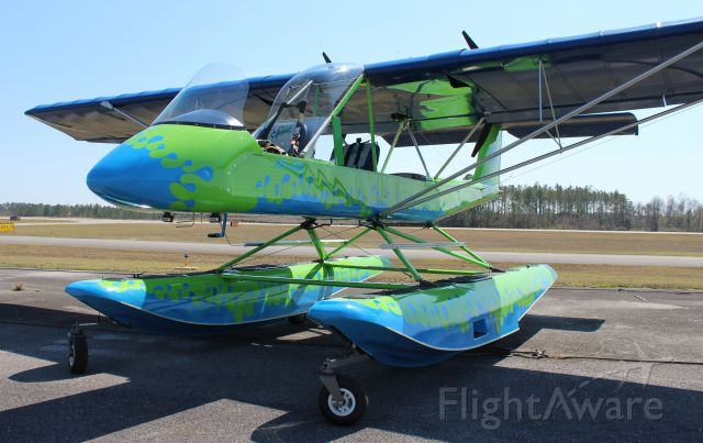 LOCKWOOD Air Cam (N411T) - A Lockwood AirCam on the ramp at Bay Minette Municipal Airport, AL - March 6, 2021.