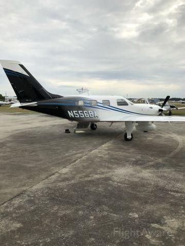 Piper Cheyenne 400 (N556BA) - Piper Meridian PA-46-500T