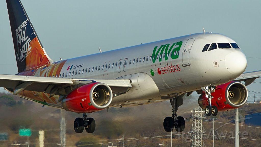 Airbus A320 (XA-VAX) - 22 approach.<br />Jan. 13,2021