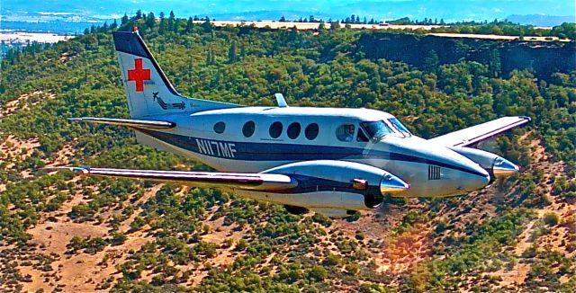 Beechcraft King Air 90 (N117MF) - Mercy Flights, Medford, Oregon.