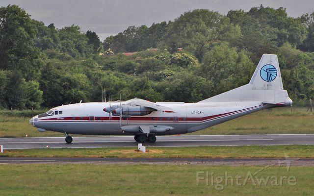Antonov An-12 (UR-CAH) - ukraine air alliance an-12bk ur-cah arriving in shannon from billund 16/6/18.