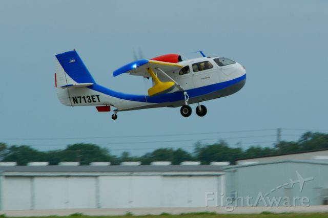 Experimental 100kts-200kts (N713ET) - 2013 Sun n Fun Parade of Planes