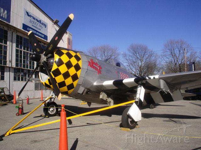 REPUBLIC Thunderbolt (UNKNOWN) - An amazingly restored, Republic P47 Thunderbolt (predecessor to the USAF