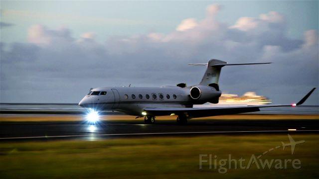 Gulfstream Aerospace Gulfstream G650 (VP-BXB)
