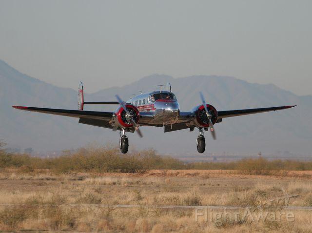 Beechcraft 18 (N2913B) - Coolidge
