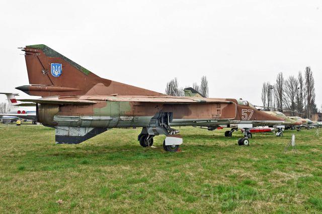 — — - On display at Ukraine State Aviation Museum, Kiev.