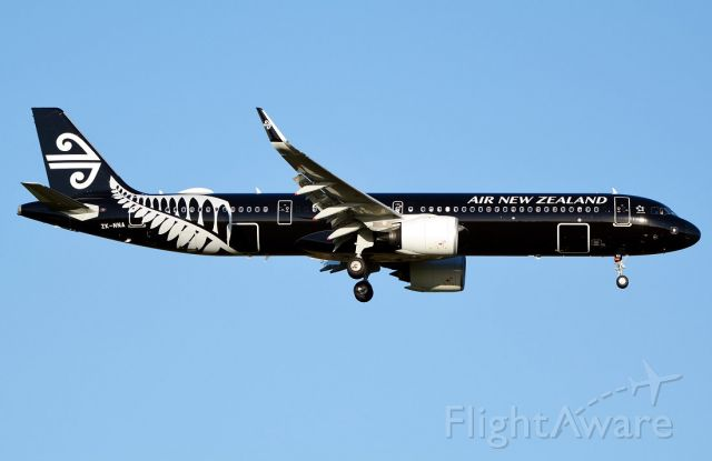 Airbus A321neo (ZK-NNA)
