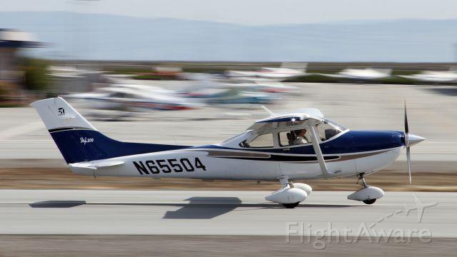 Cessna Skylane (N65504) - Just getting airborne.