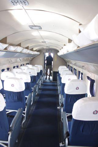 Douglas DC-3 (NC17334) - Cabin of Flagship Detroit DC3