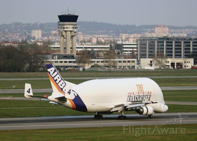 F-GSTD — - Airbus A300-605ST Beluga, Toulouse Blagnac Airport (LFBO-TLS)