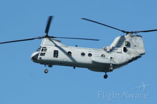 — — - CH-46 Chinook  100 Yrs. Naval Av. San Diego, CA