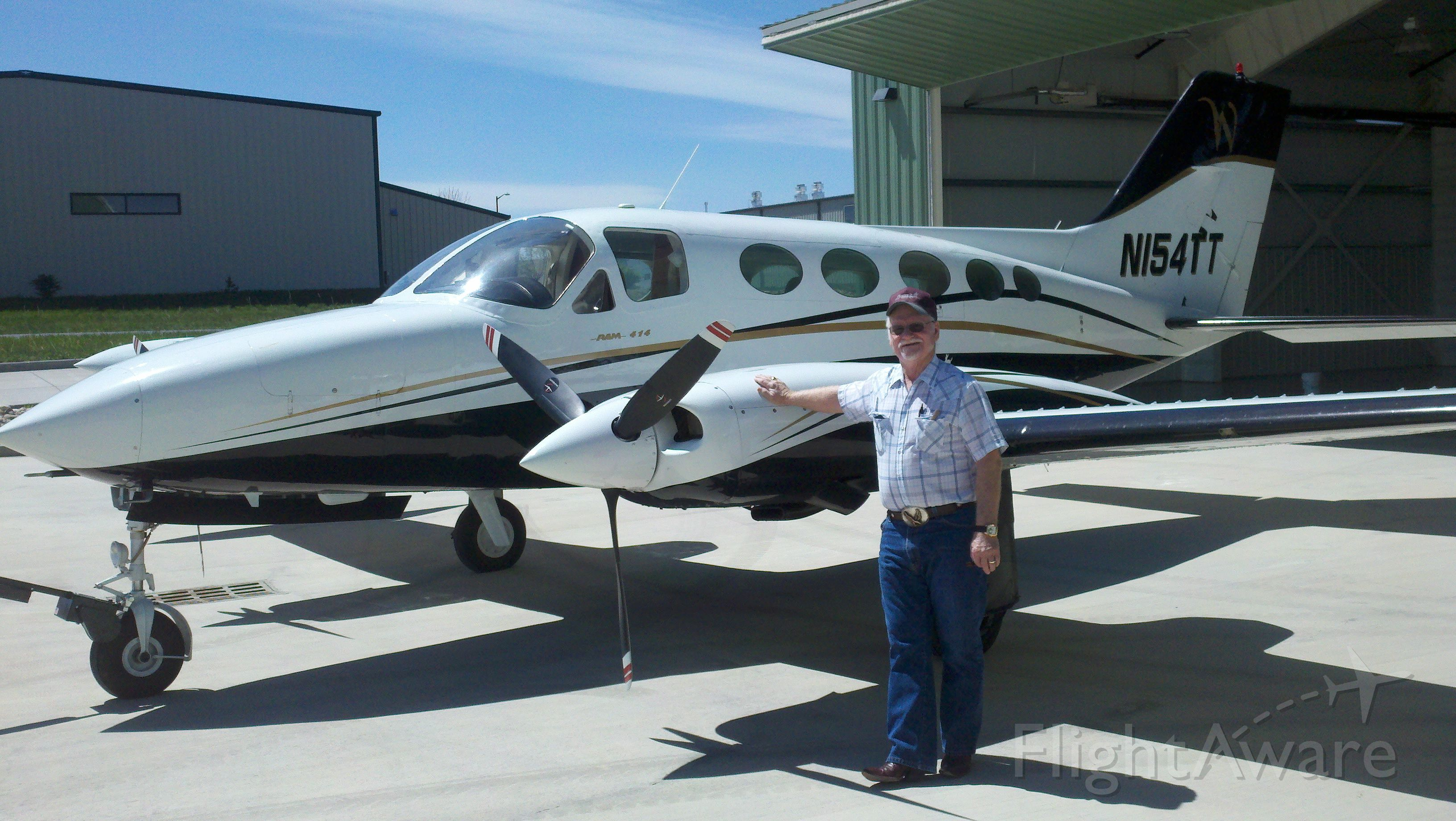 Cessna Chancellor (N154TT)