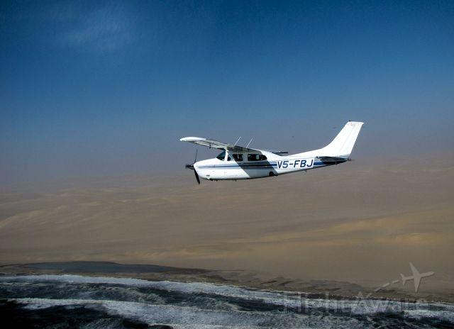 V5-FBJ — - Flying over the Skeleton Coast in Namibia