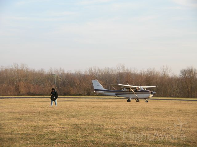"Cessna Skyhawk (N7640G) - ""First Solo""...flight instructor walks away as student prepares to taxi for first solo."