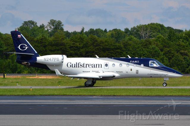 IAI Gulfstream G150 (N247PS) - GULFSTREAM AEROSPACE CORP taxiing at KJQF - 7/30/18
