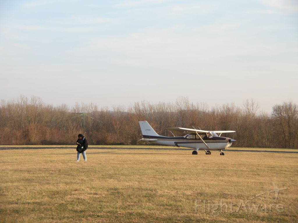 """Cessna Skyhawk (N7640G) - """"First Solo""""...flight instructor walks away as student prepares to taxi for first solo."""