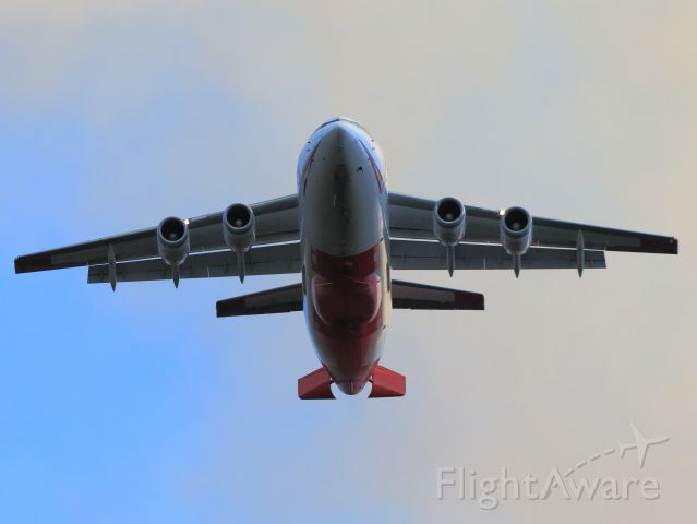 British Aerospace BAe-146-200 (N473NA) - Neptune Aviation Services BAe 146-200 Tanker 01, off a retardant drop with flaps and speed brakes deployed on the June Fire, June Lake CA., late afternoon 9-16-14. <br /><br />Neptune Aviation Services is located in Missoula, Montana. NAS fleet includes 7 modern BAe 146-200 aircraft(converted British Aerospace BAe 146-200, passenger carrier regional airliner), including Tankers 41, 40, 12, 10, 03, 02, 01 and are equipped with the innovative REV 3 tank capable of delivering a payload of 3,050 gallons of fire retardant.