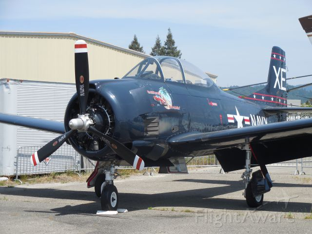North American Trojan (N2053C) - VX-5