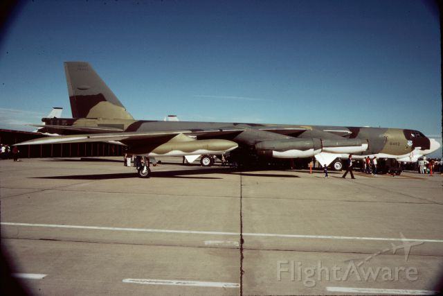 57-6492 — - B-52G on static display at the Castle AFB open house, Spring 1985.