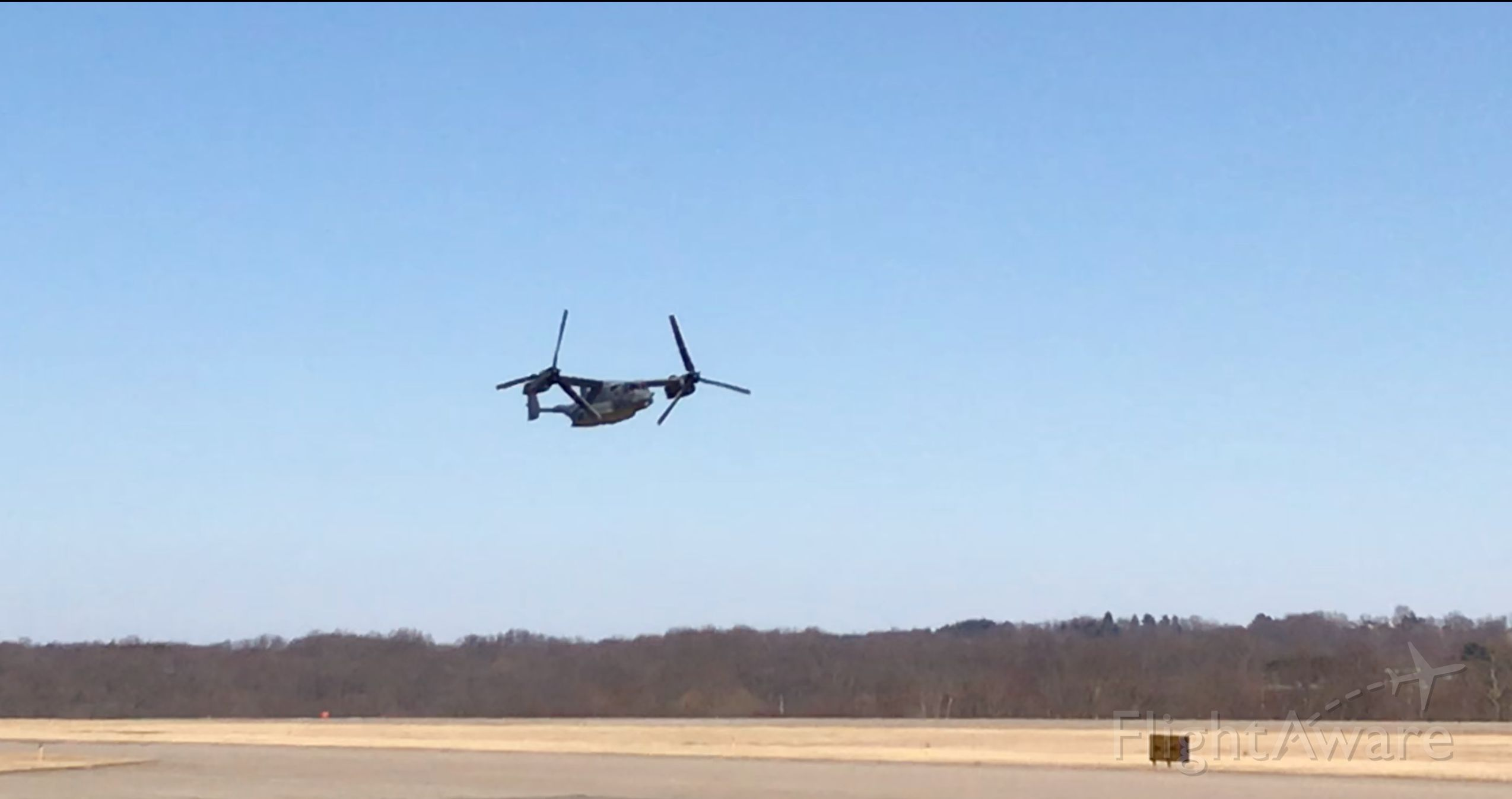 0779 — - Air Force Osprey  (tail # 0779) out of Destin, FL refueling and fly-by in OH
