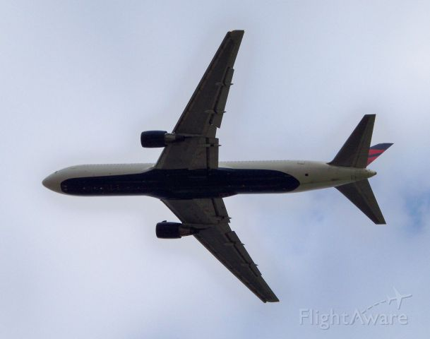 BOEING 767-300 — - Blasting off to Atlanta on a gray morning