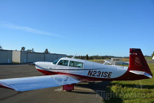 Mooney M-20 Turbo (N231SE)