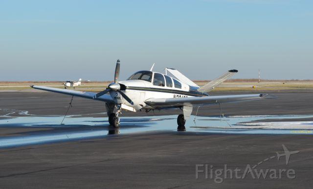 Beechcraft 35 Bonanza (N2340B) - N2340B is seen at KBKL. Please look for more photos at Opshots.net