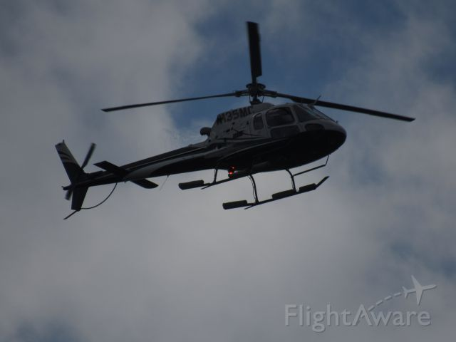 N135MC — - Caught over my house while doing some roof - spotting. Loud.