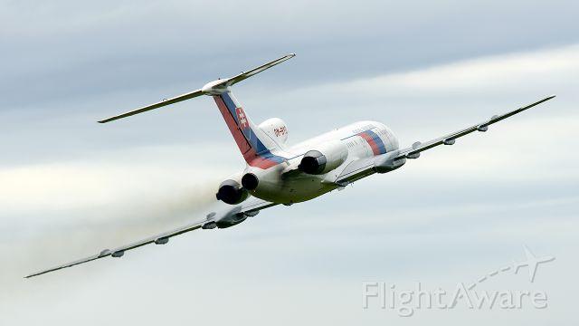 OM-BYO — - Tupolev Tu-154 Mbr /Slovakia - Government Flying Servicebr /Slovakia: Dubnica nad Vahom - Slavnica (LZDB)