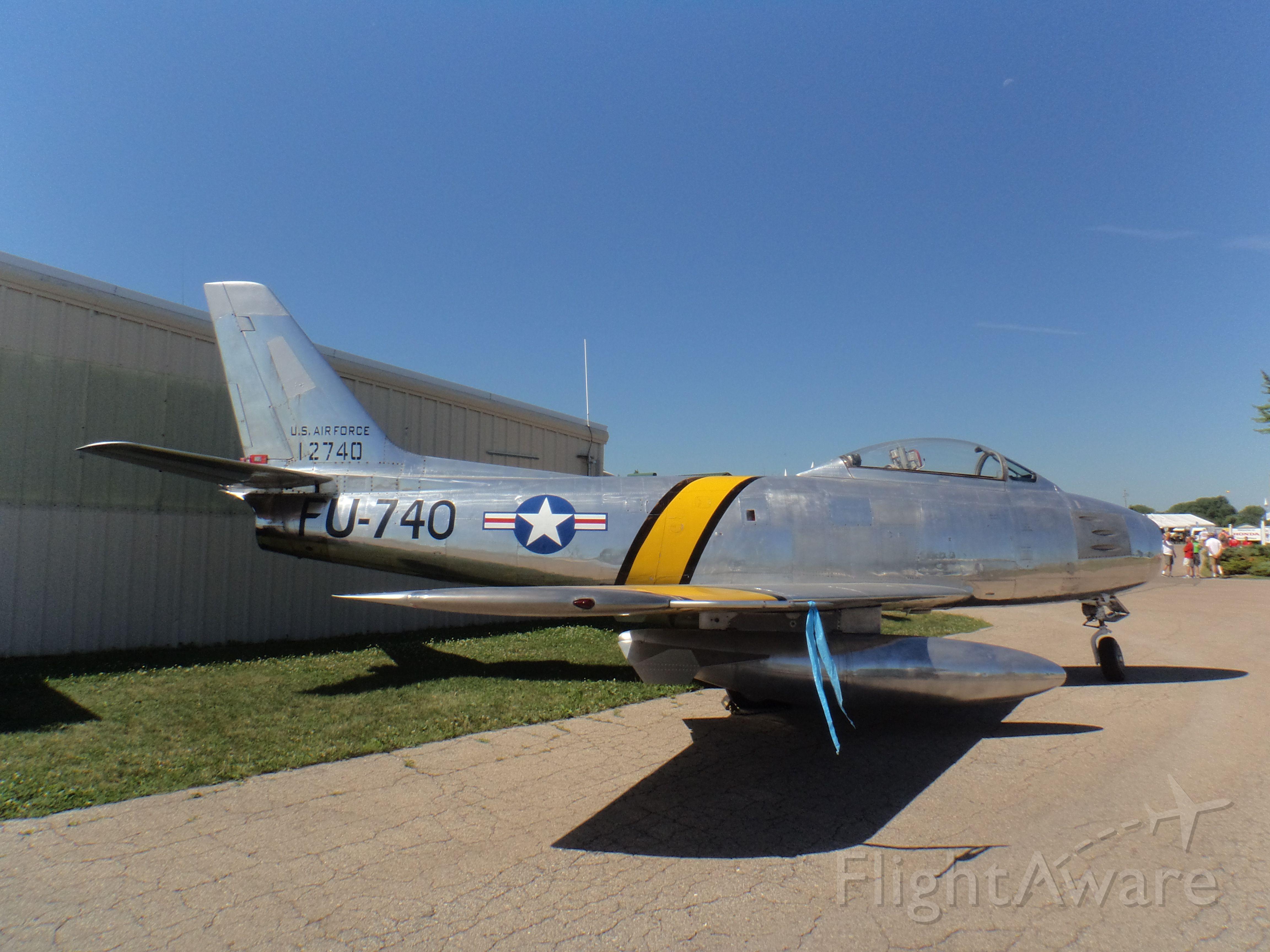 51-2740 — - North American F-86E Sabre