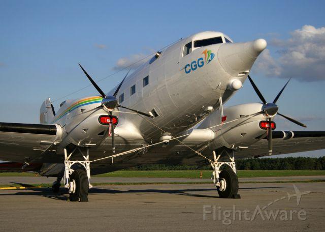 Douglas DC-3 (turbine) (C-GGSU) - Ottawa Shell Aerocentre FBO September 2014