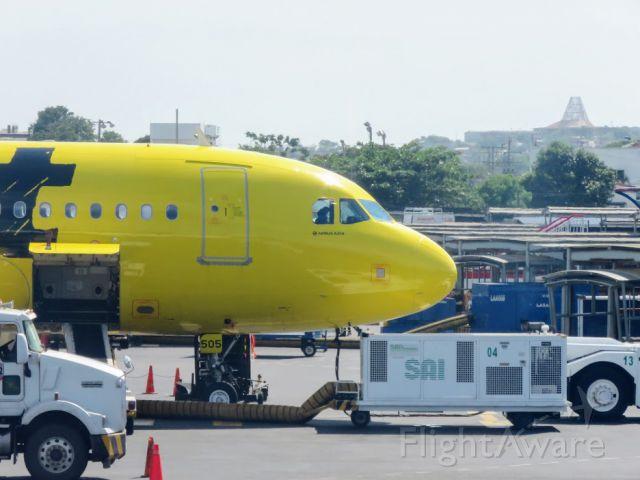 Airbus A319 (N505NK)