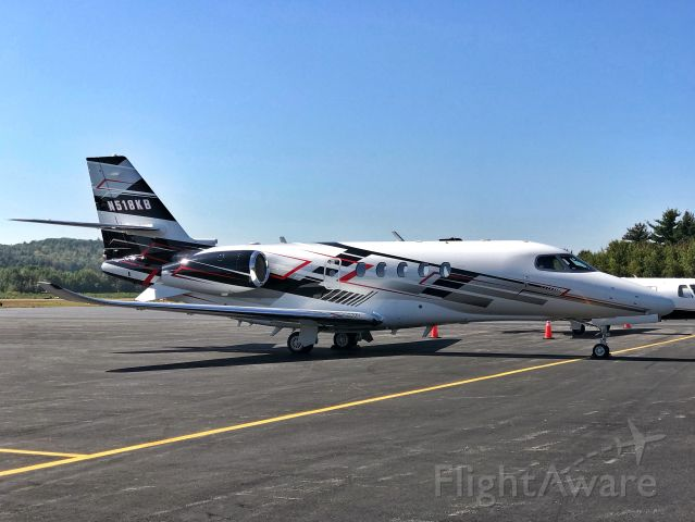 Cessna Citation Sovereign (N518KB)